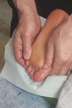 Bog, paperback The Foot Massage Journal - Rub My Feet af Cool Image