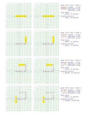 Bog, paperback Fifty Scrabble Box Scores Games 2251-2300 af MR Francis Gurtowski