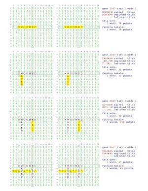 Bog, paperback Fifty Scrabble Box Scores Games 2351-2400 af MR Francis Gurtowski