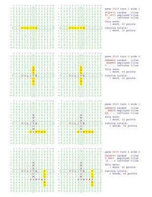 Bog, paperback Fifty Scrabble Box Scores Games 2501-2650 af MR Francis Gurtowski