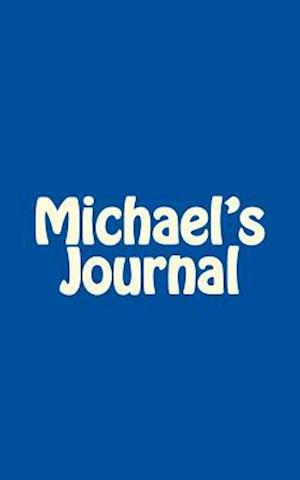 Bog, paperback Michael's Journal af Irreverent Journals