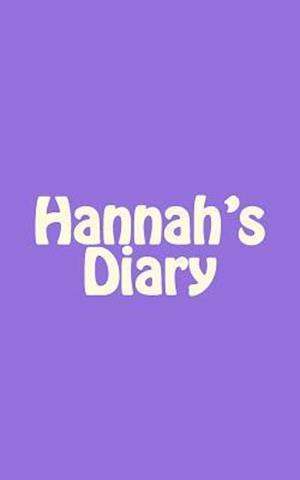 Bog, paperback Hannah's Diary af Irreverent Journals