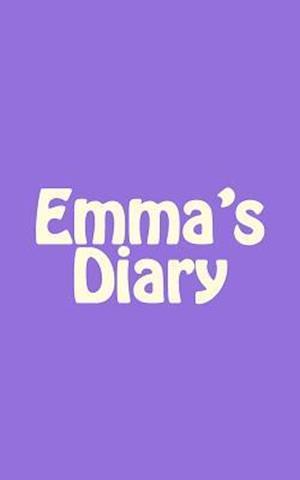 Bog, paperback Emma's Diary af Irreverent Journals