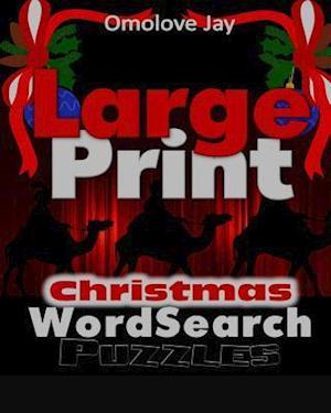 Bog, paperback Large Print Christmas Wordsearch Puzzles af Omolove Jay