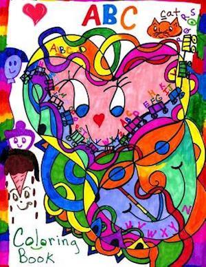 Bog, paperback ABC Coloring Book af Marita Louise Gale