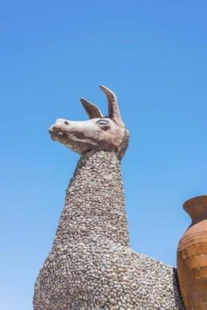 Bog, paperback Llama Statue in the Village of Tilcara Jujuy Argentina Journal af Cs Creations