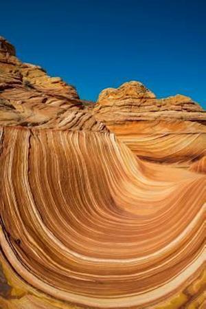 Bog, paperback The Wave Sandstone Curve Rock Formation Arizona USA Journal af Cs Creations