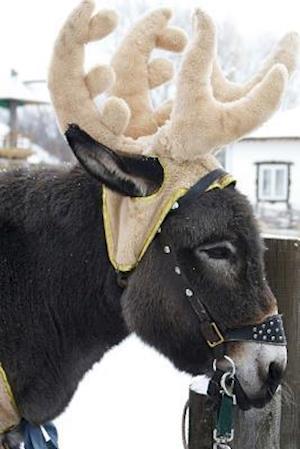 Bog, paperback Cutest Donkey Wearing an Antler Hat Journal af Cs Creations