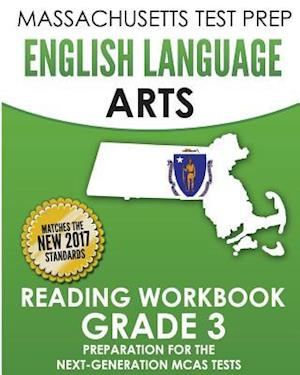 Bog, paperback Massachusetts Test Prep English Language Arts Reading Workbook Grade 3 af Test Master Press Massachusetts