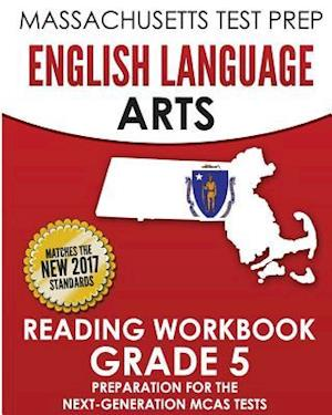 Bog, paperback Massachusetts Test Prep English Language Arts Reading Workbook Grade 5 af Test Master Press Massachusetts