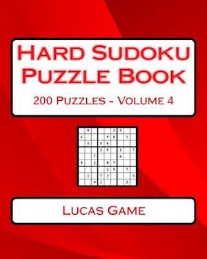 Bog, paperback Hard Sudoku Puzzle Book Volume 4 af Lucas Game