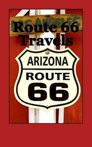 Bog, paperback Route 66 Travels af Travel Books