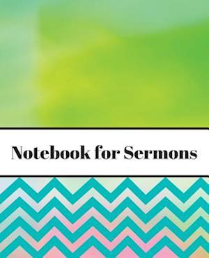 Notebook for Sermons (Pastels)