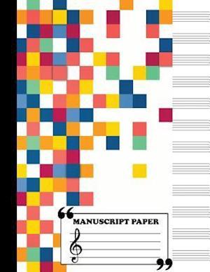 Bog, paperback Manuscript Paper af Me Journal