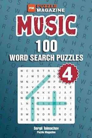 Bog, paperback Music - 100 Word Search Puzzles (Volume 4) af Sergii Tolmachov