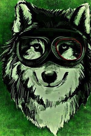 Bog, paperback A Wolf with Goggles af Unique Journal