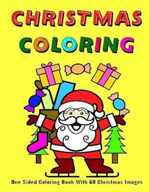 Bog, paperback Christmas Coloring af Om Yasmeen, Coloring Journals