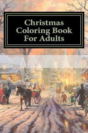 Bog, paperback Christmas Coloring Book for Adults af Christmas Coloring
