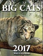 Big Cats 2017 Wall Calendar