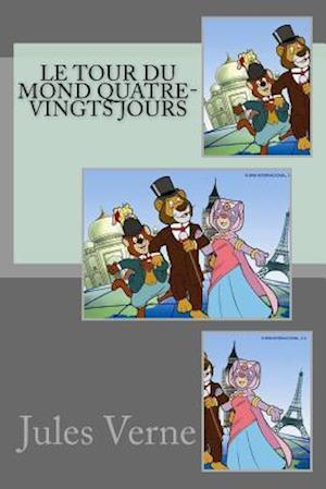 Bog, paperback Le Tour Du Mond Quatre-Vingts Jours af Jules Verne