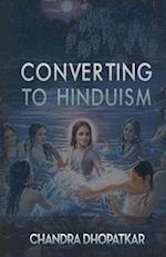 Converting to Hinduism