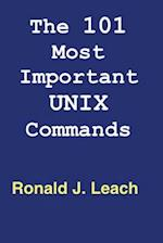 The 101 Most Important Unix and Linux Commands