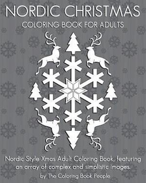 Bog, paperback Nordic Christmas Coloring Book for Adults af The Coloring Book People