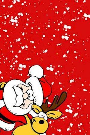 Bog, paperback Peek a Santa & Reindeer af Journals and More
