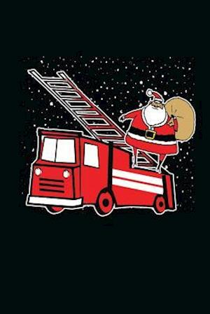 Bog, paperback Fire Truck Santa af Journals and More