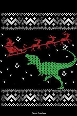 Bog, paperback Dinosaur Eating Santa af Journals and More
