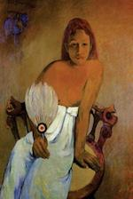 """Girl with a Fan"" by Paul Gauguin - 1902"