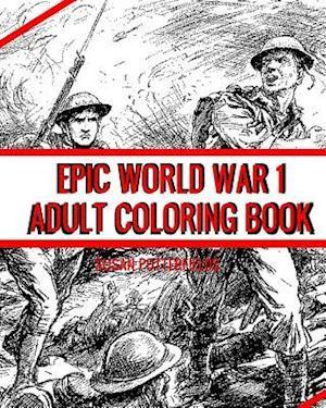 Bog, paperback Epic World War 1 Adult Coloring Book af Susan Potterfields
