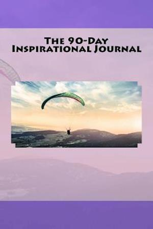 Bog, paperback The 90-Day Inspirational Journal af Inspirational Motivational Books