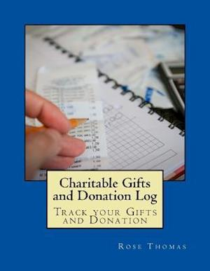 Bog, paperback Charitable Gifts and Donation Log af MS Rose Thomas