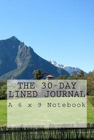 Bog, paperback The 30-Day Lined Journal af Inspirational Motivational Books