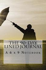 The 90-Day Lined Journal