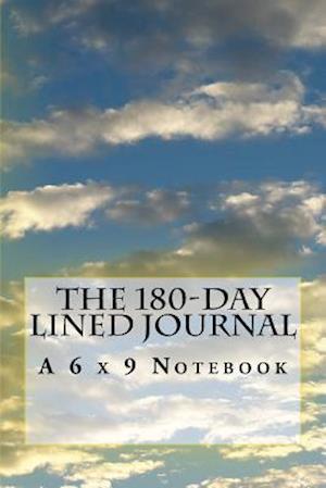 Bog, paperback The 180-Day Lined Journal af Inspirational Motivational Books
