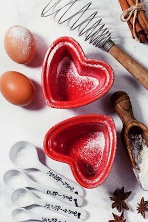 Bog, paperback Charming Red Heart Shaped Baking Pans Journal af Cs Creations
