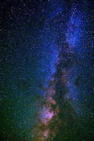 Bog, paperback A Starry Sky and a Milky Way Nebula Astronomy Journal af Cs Creations