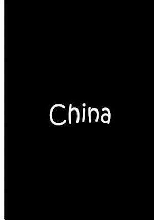 Bog, paperback China - Black Notebook / Journal / Blank Lined Pages af Ethi Pike
