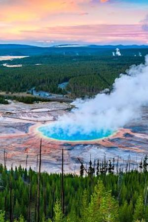 Bog, paperback Grand Prismatic Hot Springs in Yellowstone National Park USA Journal af Cs Creations