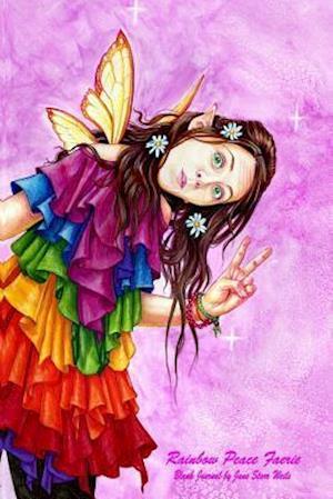 Bog, paperback Rainbow Peace Faerie Blank Journal af Jane Starr Weils