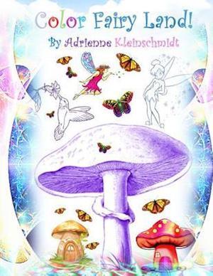 Bog, paperback Color Fairy Land! af Adrienne Kleinschmidt