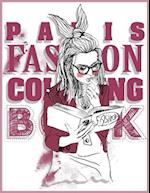 Paris Fashion Coloring Book