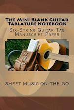 The Mini Blank Guitar Tablature Notebook af Greatest Guitar Songbook