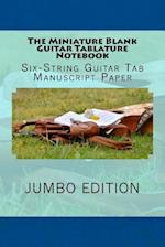The Miniature Blank Guitar Tablature Notebook