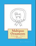 Maltipoo Ornaments