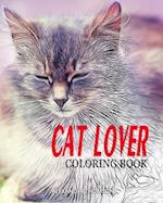 Cat Lover Coloring Book