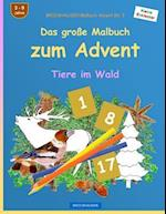 Brockhausen Malbuch Advent Bd. 3 - Das Grosse Malbuch Zum Advent