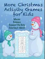 More Christmas Activity Games for Kids